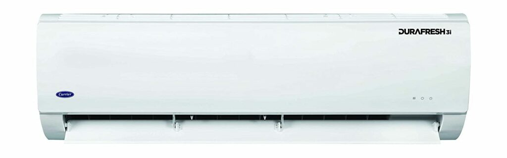 Carrier 12K Durafresh 3i - The 10 Best 1 Ton Split AC in India